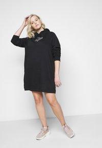 Nike Sportswear - DRESS - Day dress - black/sail - 3