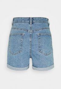 Object Tall - OBJPENNY FOLD - Shorts di jeans - light blue denim - 1