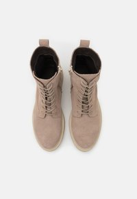 Zign - Lace-up ankle boots - beige - 5