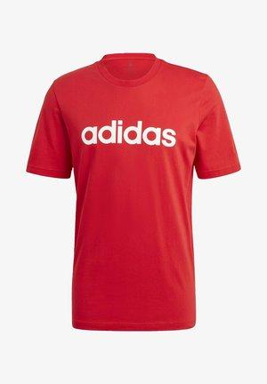 T-shirt imprimé - scarlet