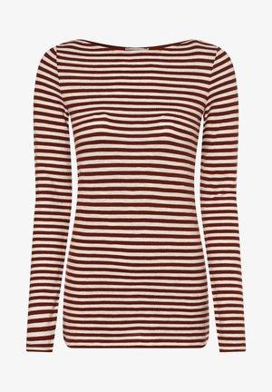 Long sleeved top - terra weiß