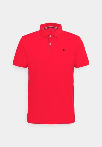 BASIC WITH CONTRAST - Polo shirt - powerful red