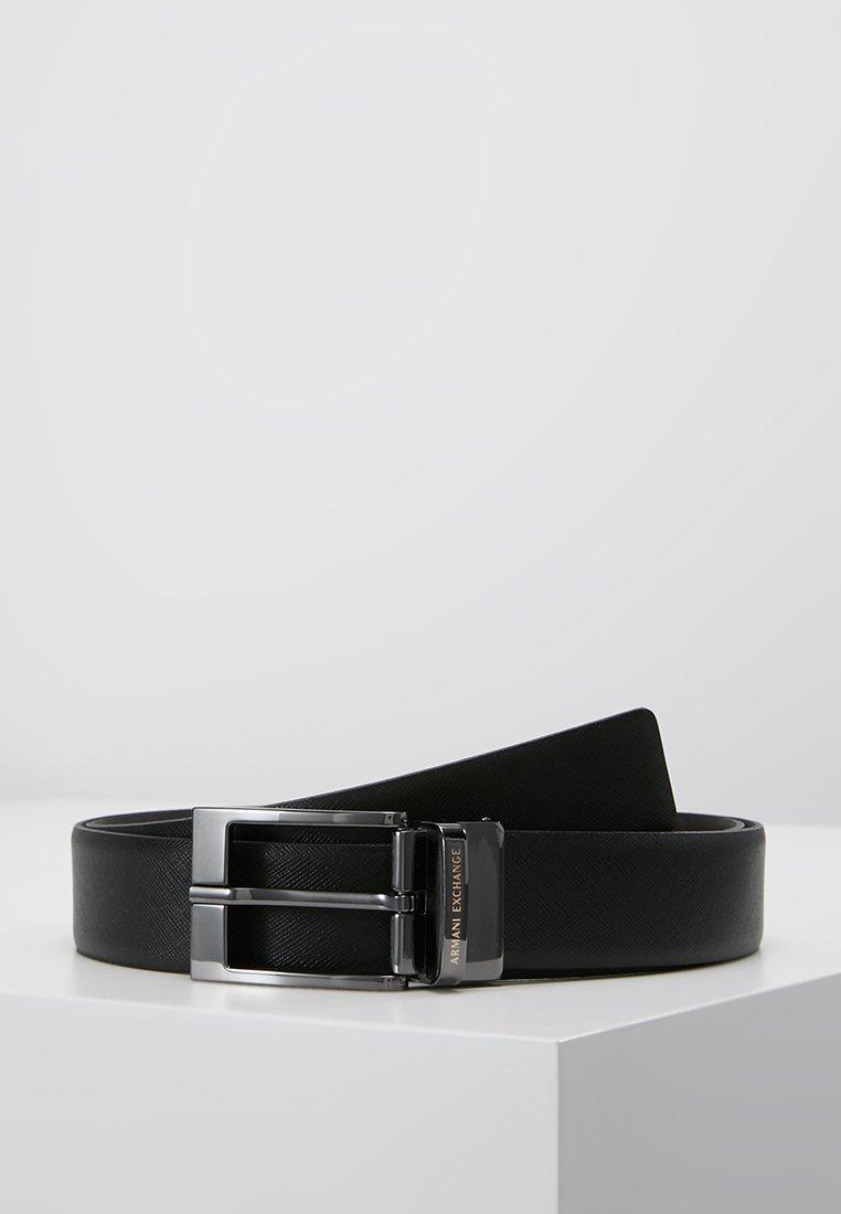 Armani Exchange - Bælter - black/dark brown