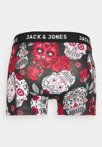 Jack & Jones - JACANTON TRUNKS 3 PACK - Shorty - black/scarlet sage - 2