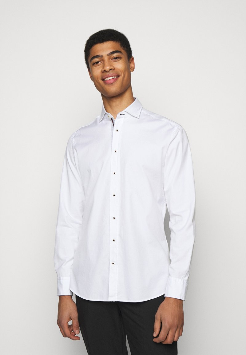 Hackett London - SLIM FIT - Shirt - white