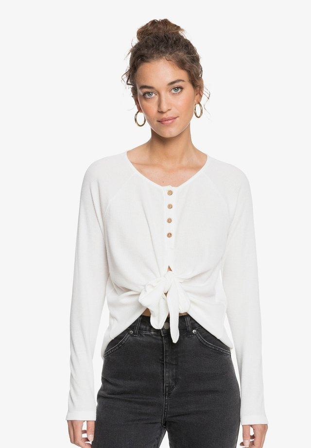 T-shirt à manches longues - snow white