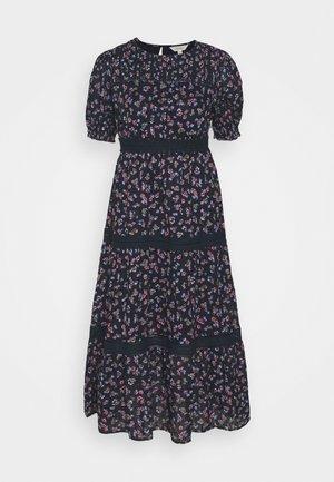 TIER DITSY DRESS - Korte jurk - dark blue