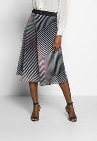 Betty & Co - A-line skirt - rosé/black - 0