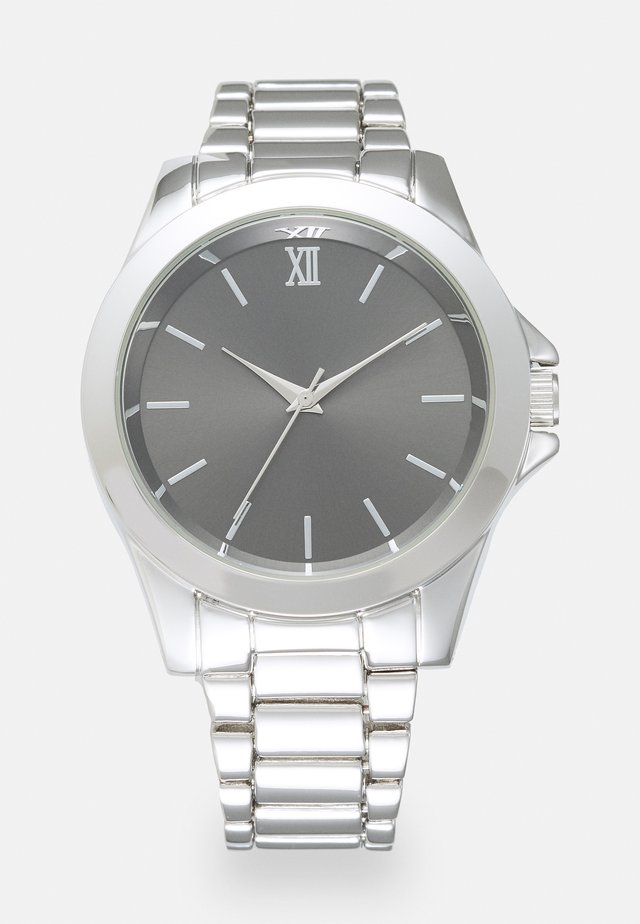 FACE WATCH - Horloge - silver-coloured
