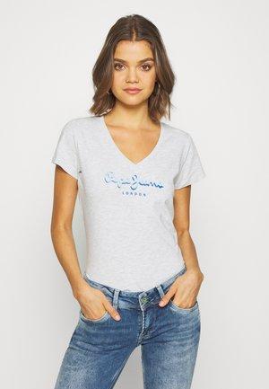 MIRANDA - T-shirt z nadrukiem - grey marl
