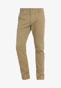 DOCKERS - SMART SUPREME FLEX SKINNY - Pantalones chinos - new british khaki - 5