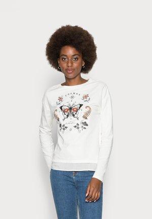 FALDON MARIPOSAS - Sweatshirt - beige/camel