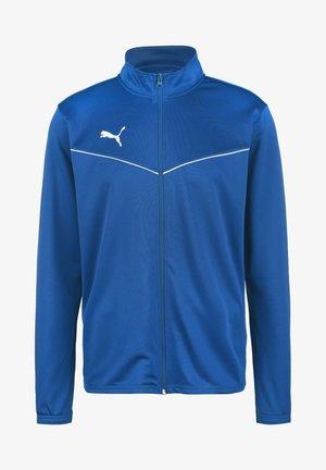 TEAMRISE - Training jacket - electric blue lemonade / puma white