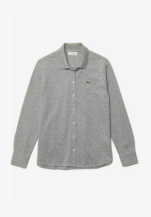 Button-down blouse - gris chine