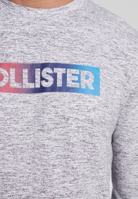 Hollister Co. - JUNE OMBRE SLEEVE HIT - Langærmede T-shirts - grey - 5