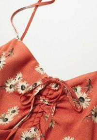 Mango - Day dress - orange - 7