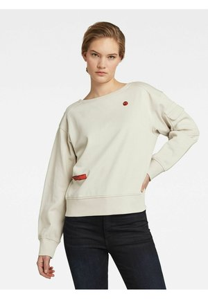 BOAT NECK - Jumper - beige