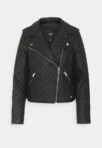 River Island - Faux leather jacket - black - 2
