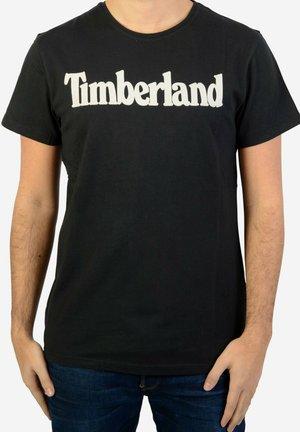 LIN RE - T-shirt imprimé - black