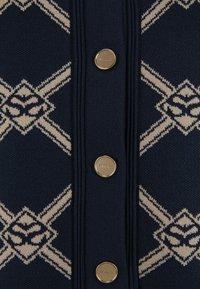 sandro - MADERE - Neuletakki - beige/blue - 2