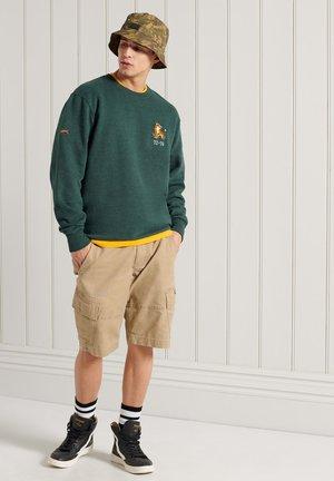 MILITARY GRAPHIC - Sweatshirt - enamel green marl