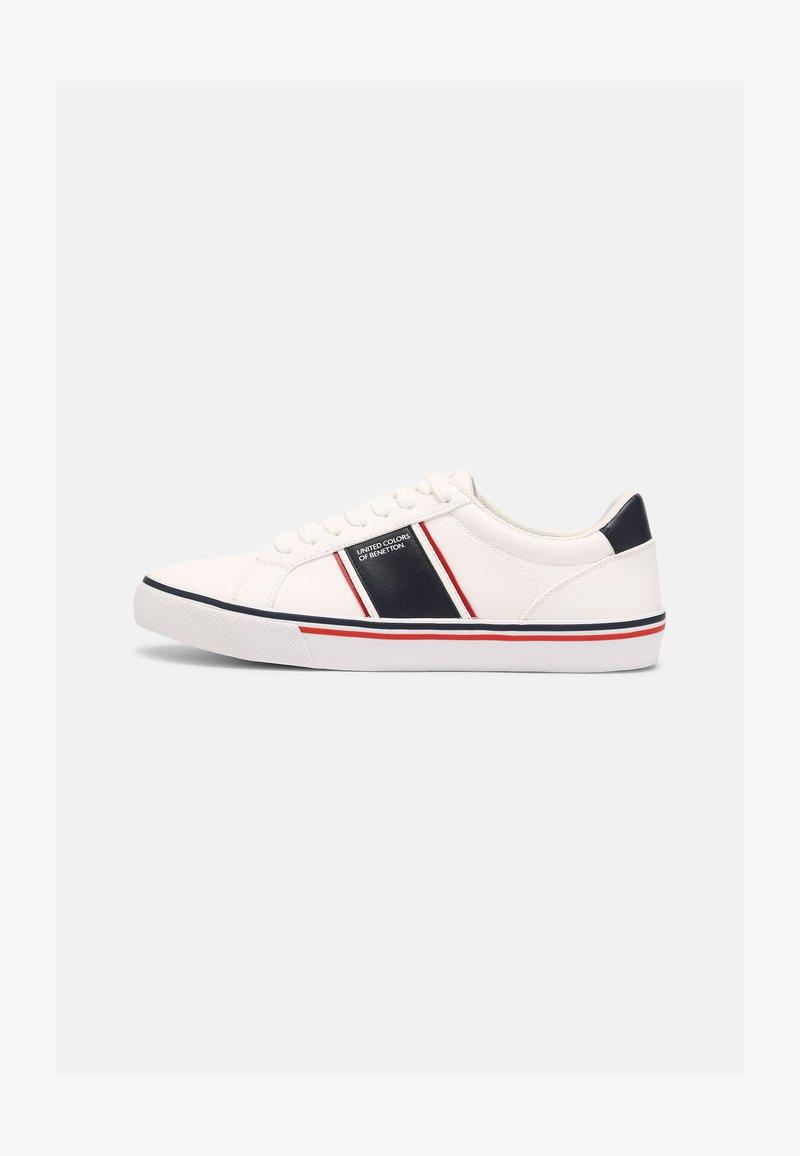 Benetton - CRISPY - Sneakers basse - white/navy
