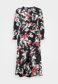 Missguided Plus - WRAP HIGH LOW MAXI DRESS - Day dress - multi - 4