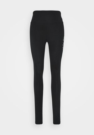 TIMELESS GRAPHIC LEGGINGS - Legíny - black seagull