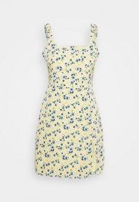 Fashion Union - SCUNCH - Day dress - yellow/blue - 1
