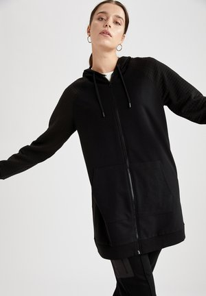 REGULAR FIT  - Bluza rozpinana - black