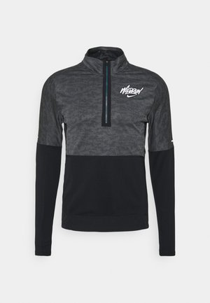 Veste de running - iron grey/black/reflective silver