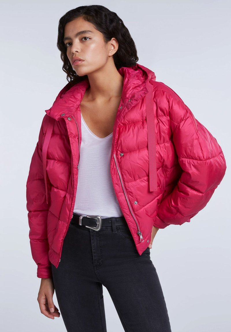 SET - Winter jacket - pink