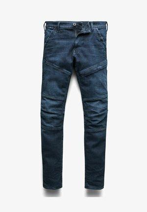 RACKAM 3D SKINNY - Jeans slim fit - worn in ultramarine