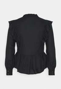 ONLY - ONLRWANDA LIFE FRILL BLOUSE - Blouse - black - 1