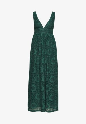 YASCHESHIRE MAXI DRESS - Iltapuku - evergreen