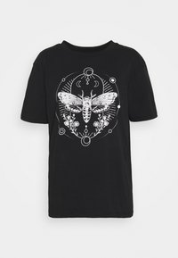 Even&Odd - Print T-shirt - black - 4