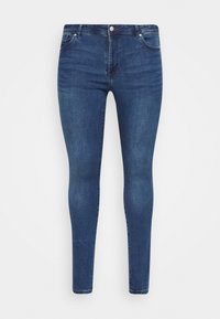 Vero Moda Curve - VMTANYA PIPING - Skinny-Farkut - dark blue denim - 4