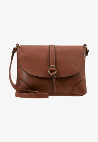 Anna Field - Across body bag - cognac - 5