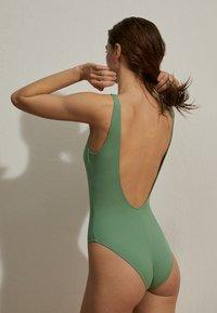 OYSHO - Swimsuit - green - 1