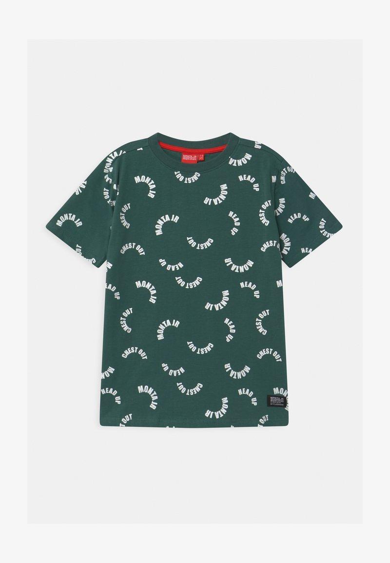 Monta Juniors - TAAVI UNISEX - Print T-shirt - mallard green