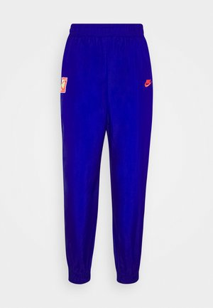 Tracksuit bottoms - ultramarine/hot lime/white/solar red
