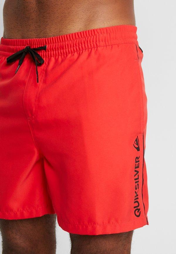 Quiksilver VOLLEY - Szorty kąpielowe - high risk red/czerwony Odzież Męska CPKE