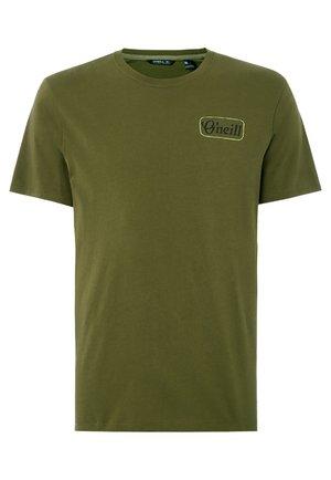 Print T-shirt - grun
