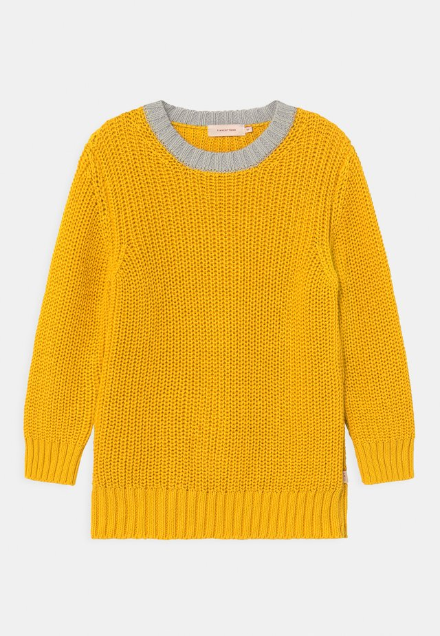 COLOURBLOCK UNISEX - Strickpullover - yellow