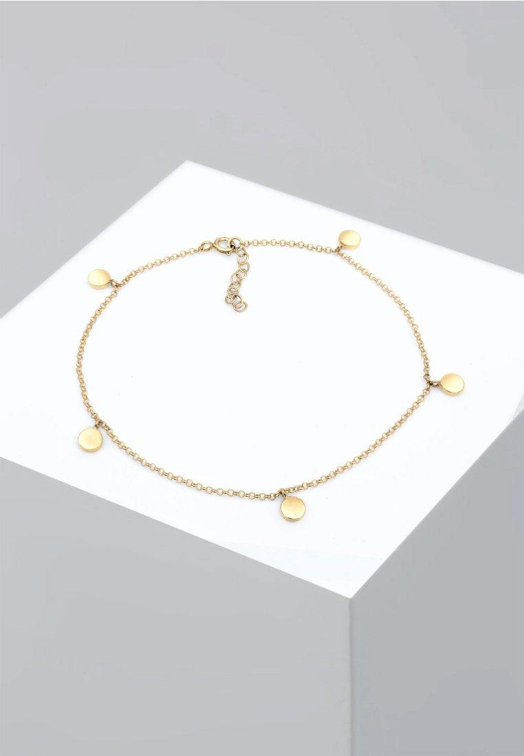 Femme ANKLET PLATE BASIC - Bracelet