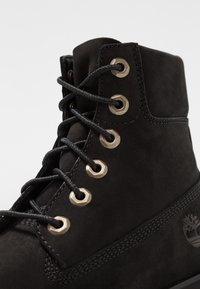 Timberland - HERITAGE LITE 6IN BOOT - Bottines à plateau - black - 2