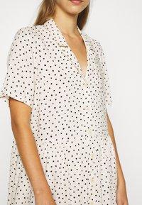 Monki - MATTAN DRESS - Skjortekjole - white - 5