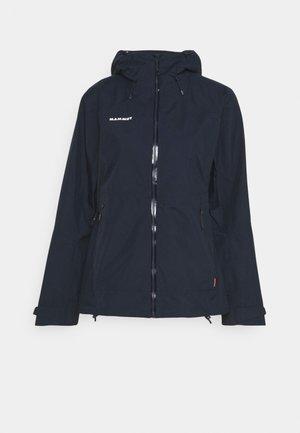 CONVEY TOUR HS  - Hardshell jacket - marine/white