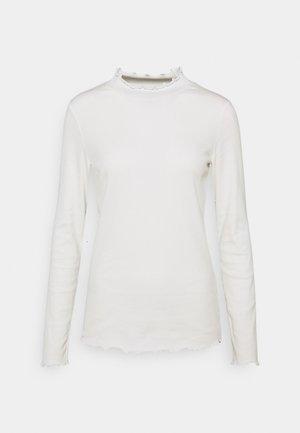 Maglietta a manica lunga - off white