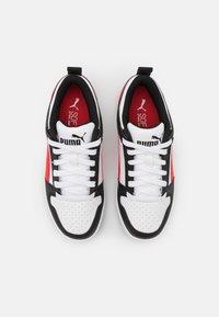 Puma - REBOUND LAYUP  - Tenisky - white/poppy red/black - 3